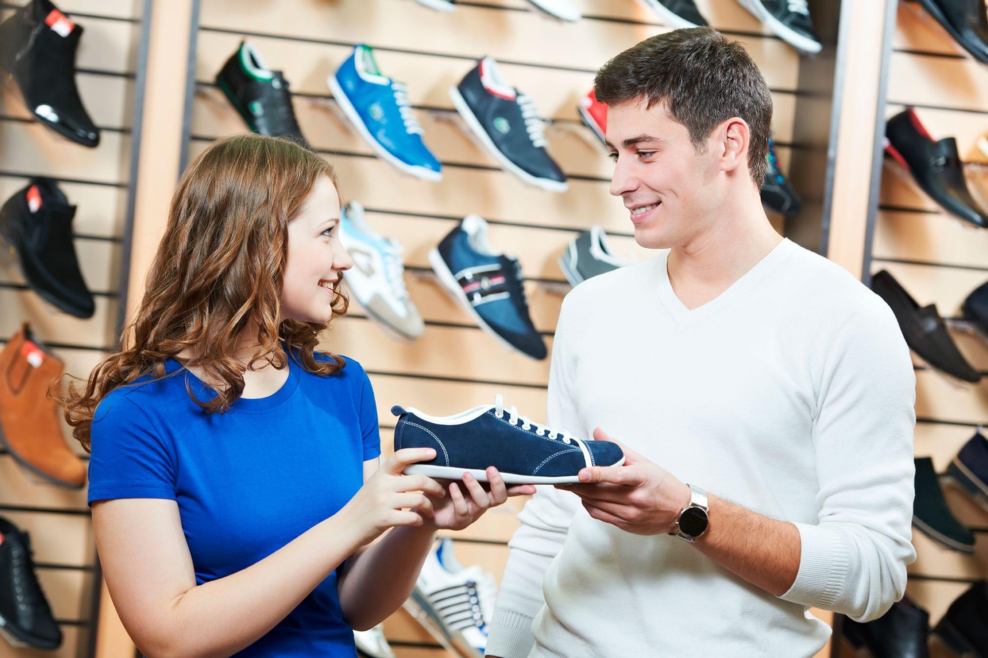 ETRON onRetail im Schuhhandel
