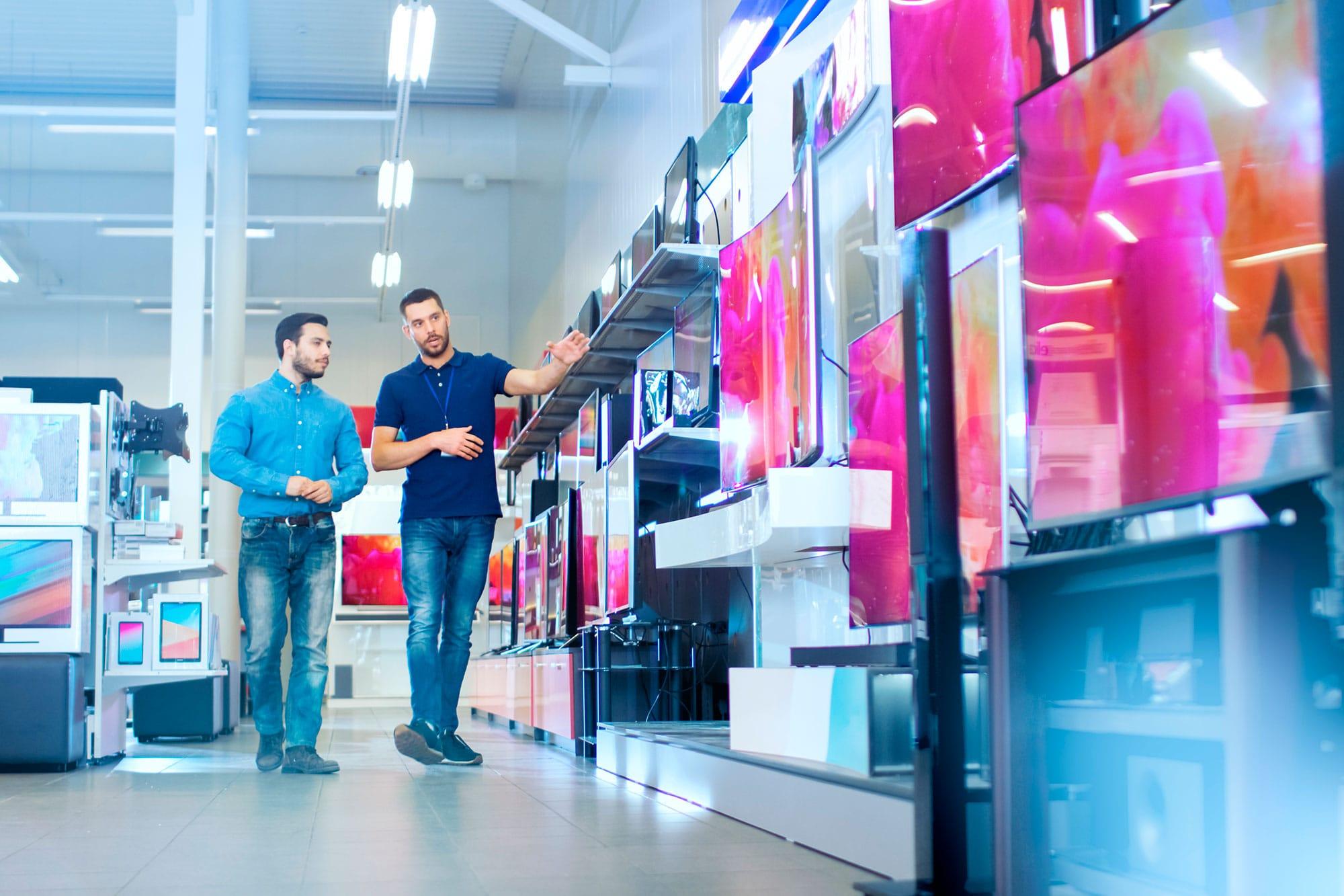ETRON onRetail im Fachverkauf - Fernseher und Unterhaltungselektronik