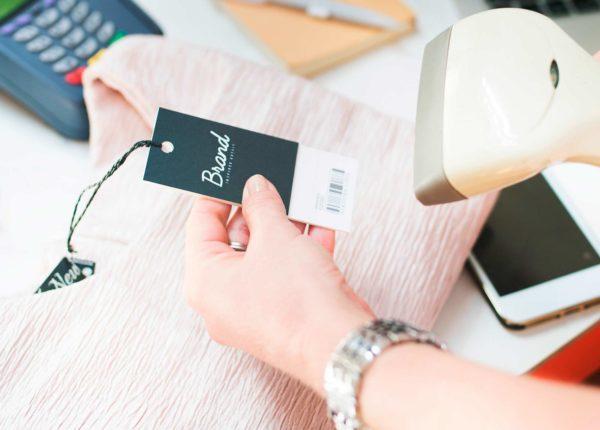 Barcodescanner liest Artikel-EAN
