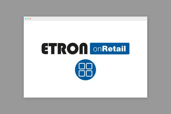 ETRON onRetail SaaS Symbolbild