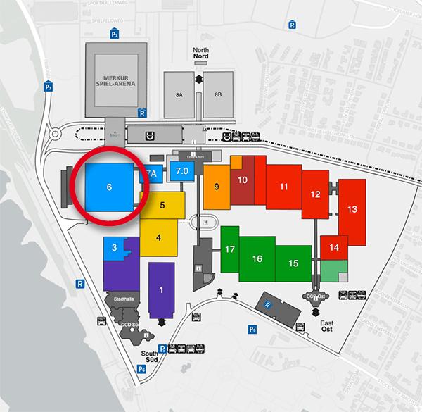EuroShop 2020 Hallenplan Messegelände